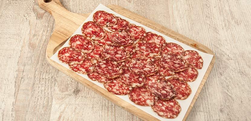 tabla de salchichón de bellota